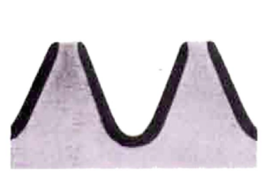 Поверхность зуба и закалка корня зуба